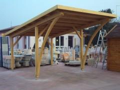Chi siamo osto wooden houses for Carport 2 posti